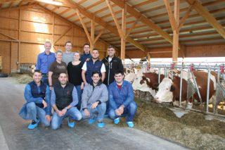 Ganaderos gallegos viajan a Austria para conocer la raza Fleckvieh