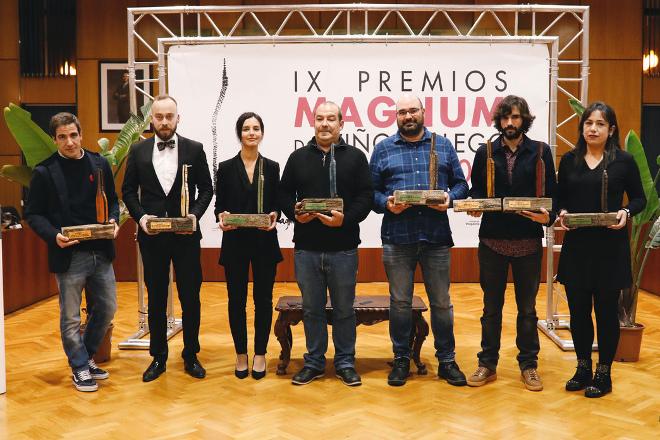 Lista de gañadores dos Premios Magnum do Viño Galego