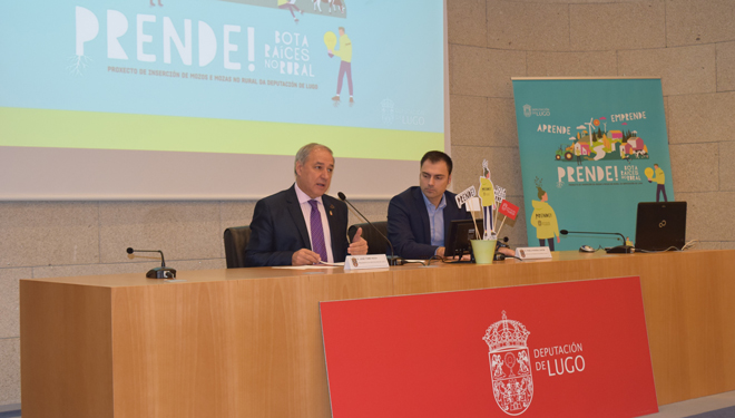 'Prende! Bota raíces', plan para crear emprego xuvenil no rural de Lugo