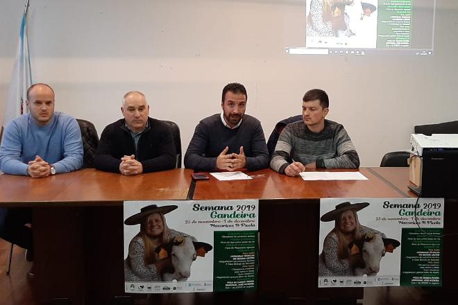 Presentan el programa de la Semana Ganadera de Mazaricos