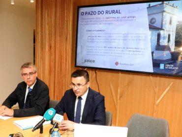 """A Xunta destinará 10 millóns para converter o Pazo de Quián no """"espello do rural galego """""""