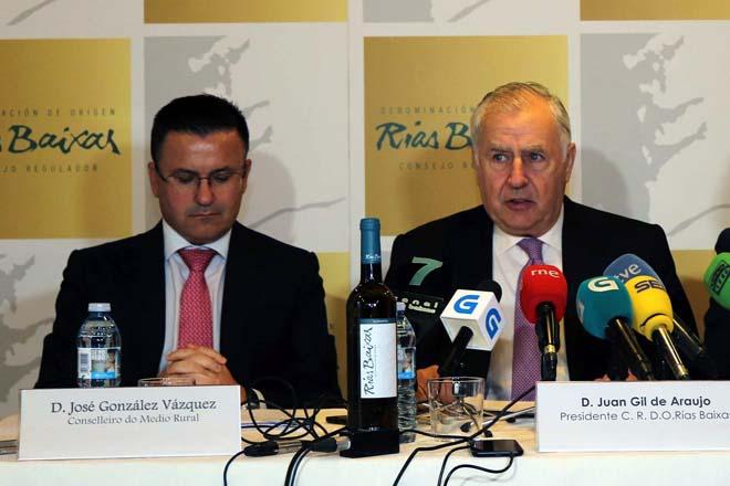 Rías Baixas aumentou exportacións ó exterior un 8,9% na última campaña