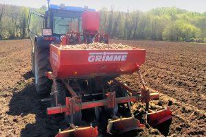 No 2017 tivo que buscar terras en Sobrado dos Monxes para plantar as patacas e non abandonar aos seus clientes