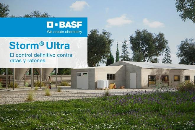 Novo rodenticida: BASF Storm® Ultra, con maior eficacia contra ratas e ratos