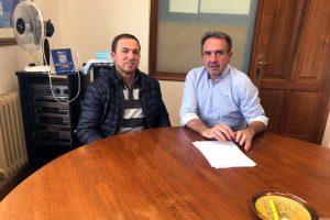 Unha das últimas xuntanzas mantidas foi co alcalde de Láncara