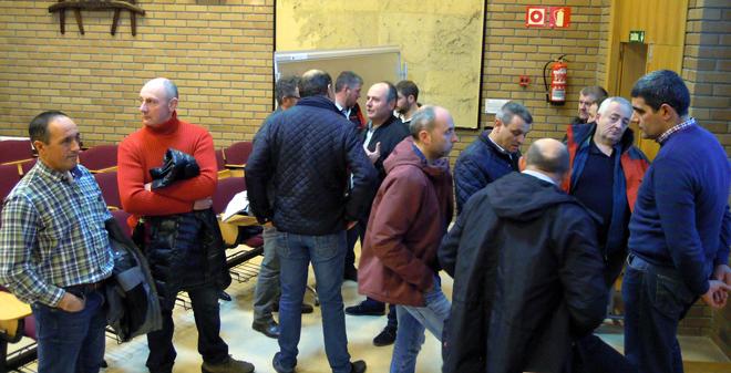 Gandeiros na última asemblea de Agromuralla, celebrada o mes pasado en Lugo