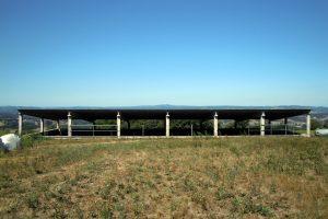 Fixeron unha fosa de purín cuberta con capacidade para 1,6 millóns de litros