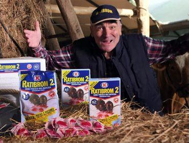 'Con Ratibrom ni rata ni ratón. Ponedlos a dieta'