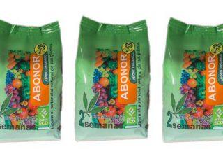 Envases de Abonor de 1 Kg.