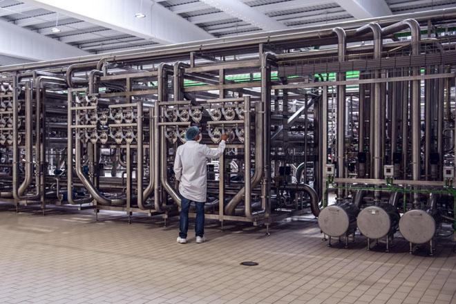 Interior de la planta.