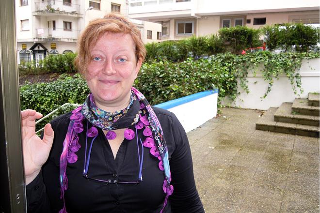 Martina Dorigo, durante a súa visita a Lugo a mediados de xaneiro