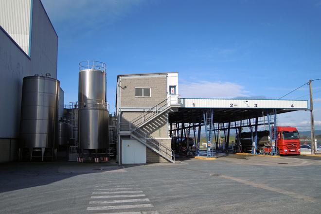 Vista das instalacións actual da planta de Oviganic Ibérica no polígono industrial do Reboredo, en Monforte