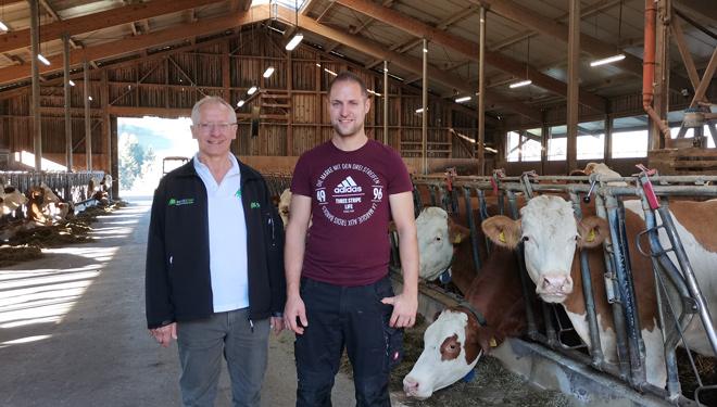 Una ganadería centrada en lograr animales campeones, reconocidos por su genética