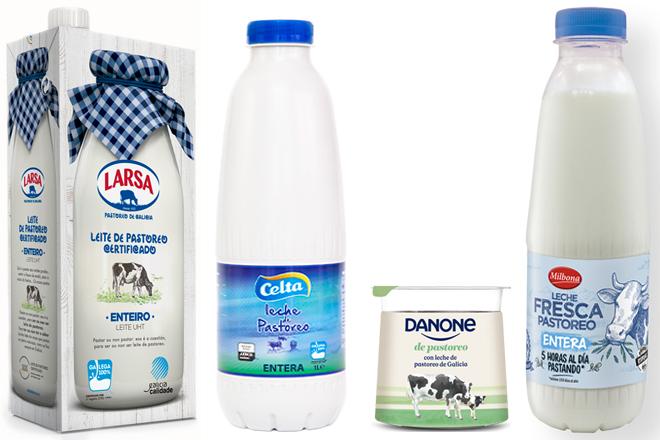 leites de pastoreo