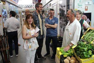 16 proxectos optan a ocupar os postos da praza e do mercado de Lugo