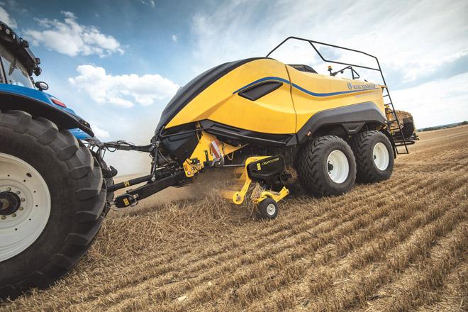 New Holland cierra 2019 como líder en recolección agrícola en España