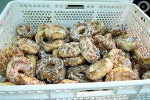 Rosquiñas como as que se venden nas romerías en Galicia