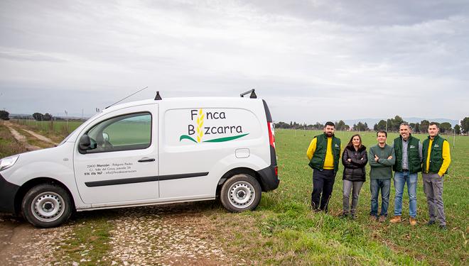 Finca Bizcarra, la apuesta por la agricultura de precisión