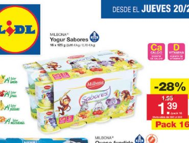 """Denuncian """"ofertas basura"""" de Lidl con yogures a 0,08 euros"""
