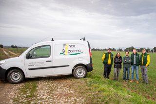 Finca Bizcarra, a aposta pola agricultura de precisión