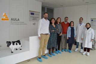Leche Río colabora co Campus de Lugo para desenvolver lácteos funcionais