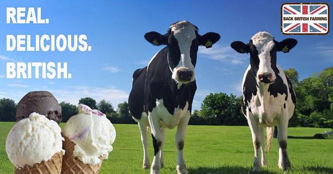 Campaña da asociación de gandeiros do Reino Unido a favor do consumo de produtos nacionais