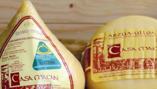 Suspendida cautelarmente a fabricación de lácteos en Casa Macán por incumprimentos sanitarios