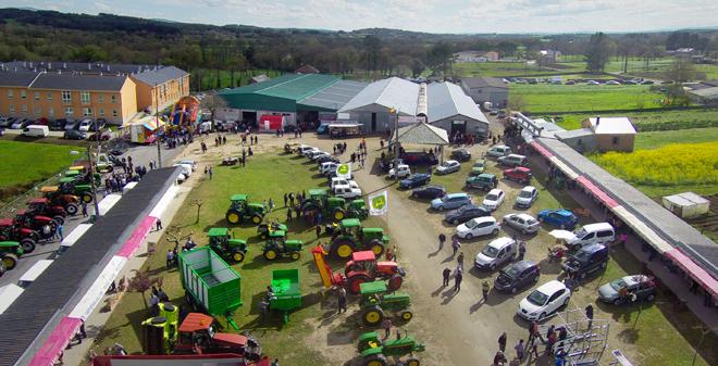 A Mostra Exposición e o Concurso de Gando teñen lugar no recinto feiral Manuel Vila