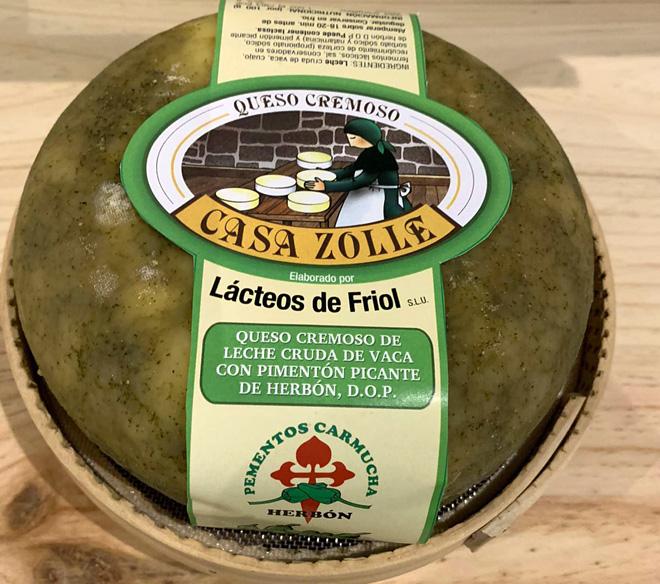 queso con pimiento de padron Casa Zolle2