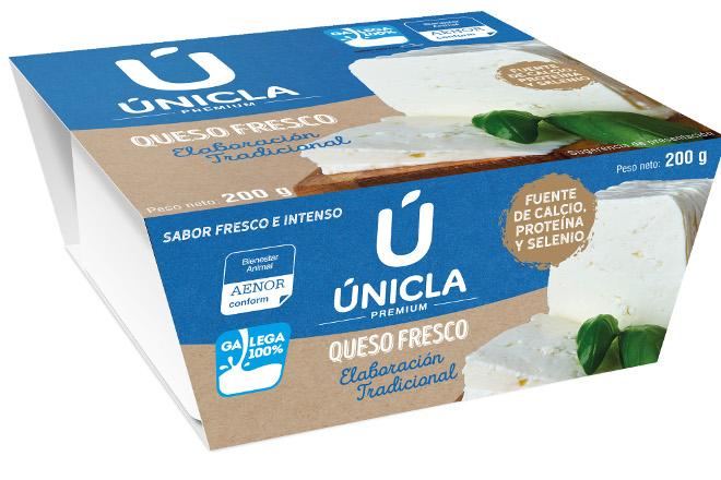 La cooperativa CLUN saca al mercado un nuevo queso fresco