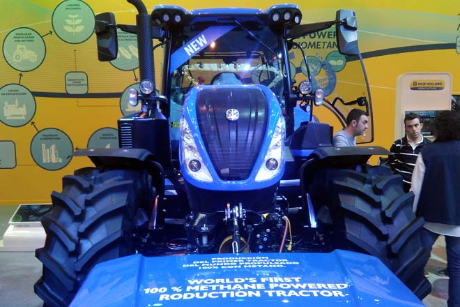 New Holland iniciará a comercialización do T6 de metano a mediados do 2020