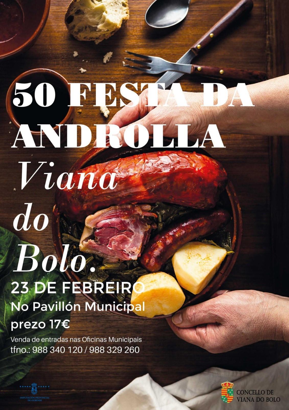 web CARTEL FESTA DA ANDROLLA 2020