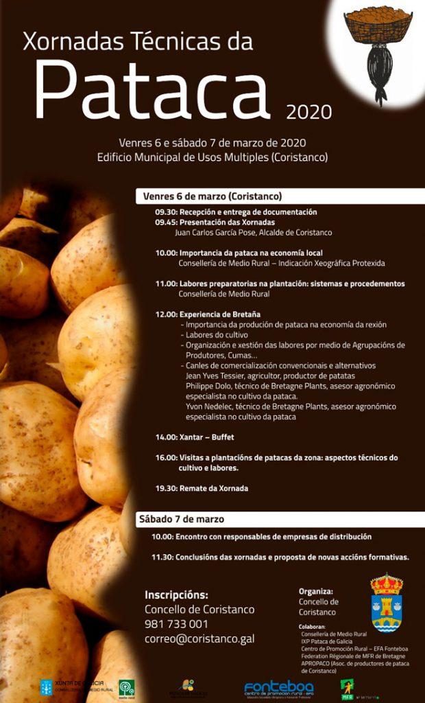 Cartel-xornadas-tecnicas-pataca-Coristanco-2020