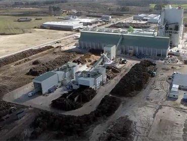 Greenalia arranca a central de biomasa de Curtis