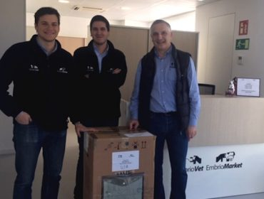 España exporta a Estados Unidos os primeiros embrións de gando bovino