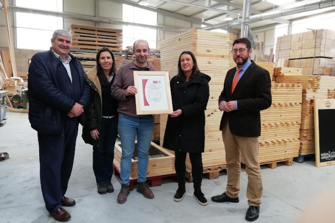 Nudima de Madera logra el sello PEFC de sostenibilidad