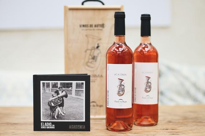 Ponte da Boga presenta o seu novo viño rosado da Ribeira Sacra