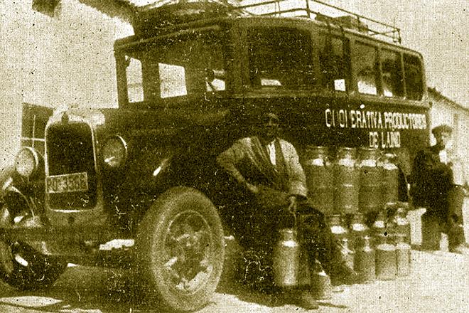 Cooperativa de Productos de Laíño (Dodro) en 1935
