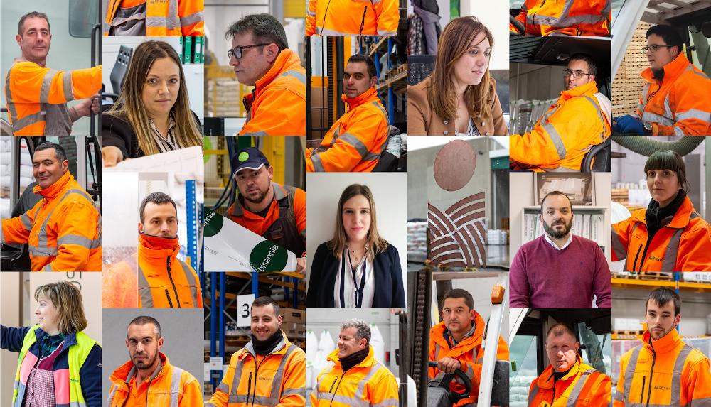 Trabajadores del Complejo Multidisciplinar de DELAGRO en As Pontes