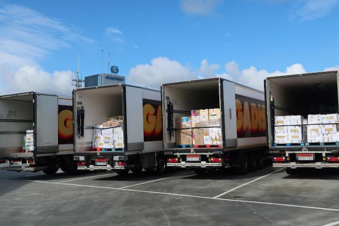 Gadis reparte 30.000 kilos de productos entre 11 bancos de alimentos