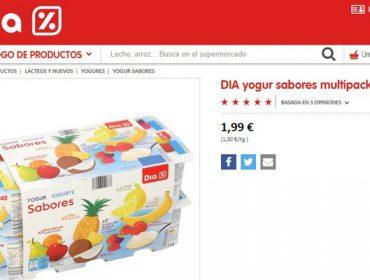 Denuncian unha oferta de iogures a 12 céntimos en Dia