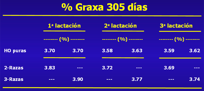 grafico grasa Procross GAL