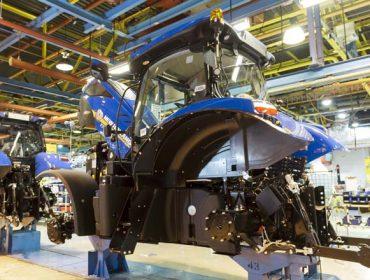 CNH Industrial reactiva a fabricación de maquinaria agrícola