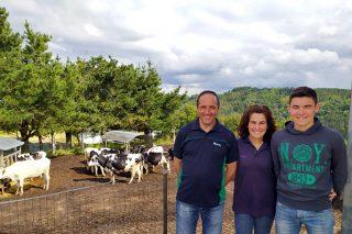 Casa Gallardo, unha gandería premiada pola calidade hixiénico-sanitaria do seu leite