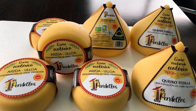 Cobideza lanza ao mercado unha nova gama de queixos baixo a marca 'Os Pendellos'