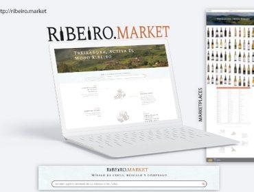 """""""Ribeiro Market"""", a tenda online para promover e mercar viños do Ribeiro"""