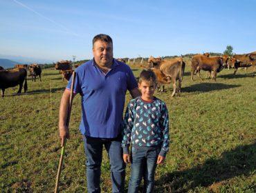 Ganderia Gayo, aposta pola comercialización directa de carne de raza vianesa en ecolóxico