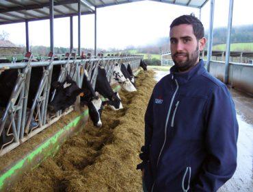 """""""Tiña claro que me quería adicar a isto desde pequeno, sempre me gustaron as vacas"""""""