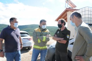 Máis de 250 lumes forestais contabilizados en Galicia no último mes producíronse pola noite
