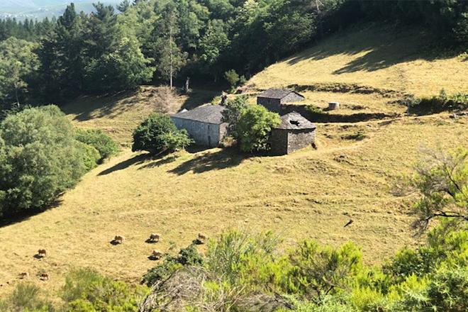 Lugar mercado por un investidor americano na Montaña de Lugo / ALDEAS ABANDONADAS